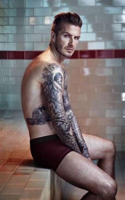 FANartisch Ferngesteuerte Unterhose: Wie Beckham nackt