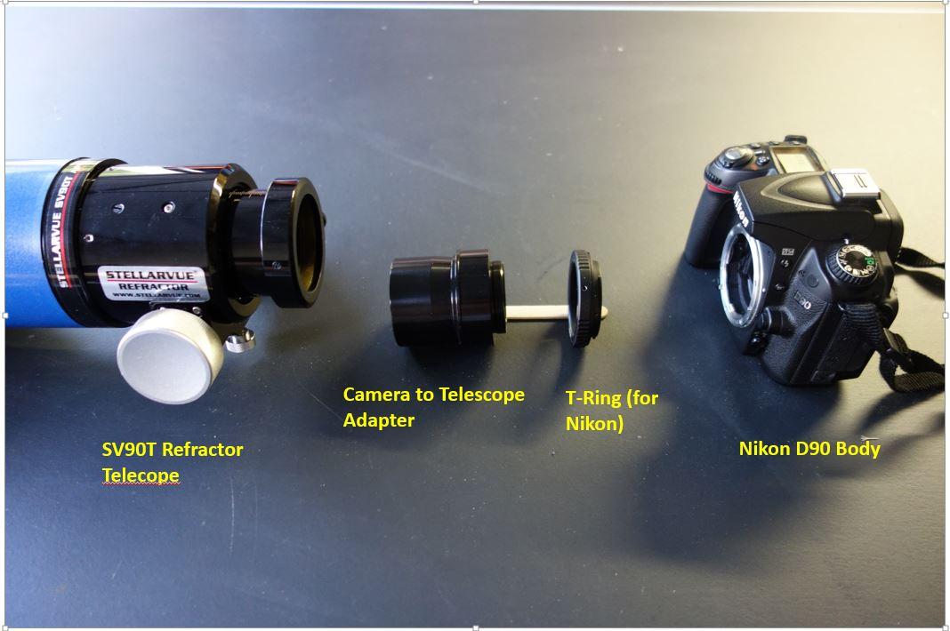 Teleskop express baader varilock variable t verlängerung