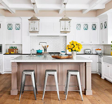 belle maison: Styling 101: The Kitchen Countertop