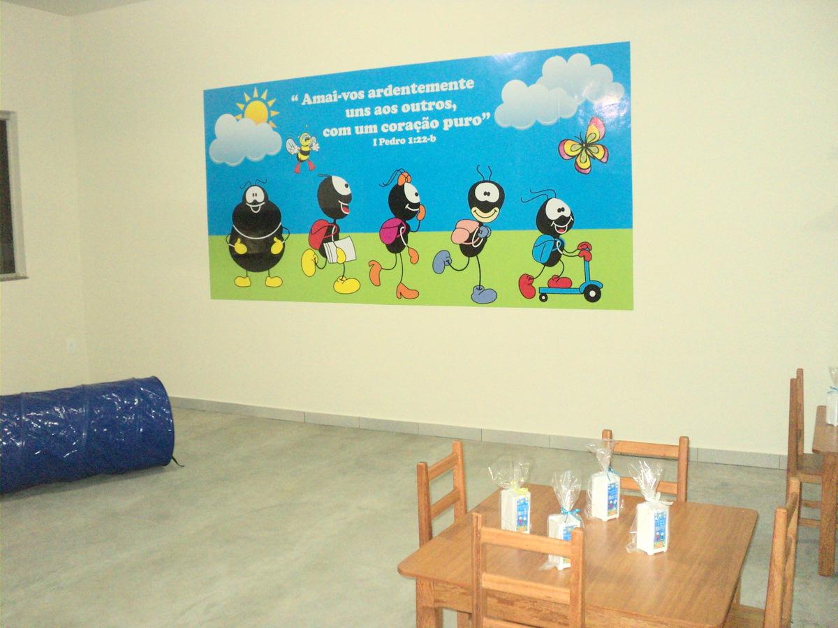 Decoracao De Sala Infantil ~ decoracao de sala maternalCriArt Publicidade & Eventos Salas do