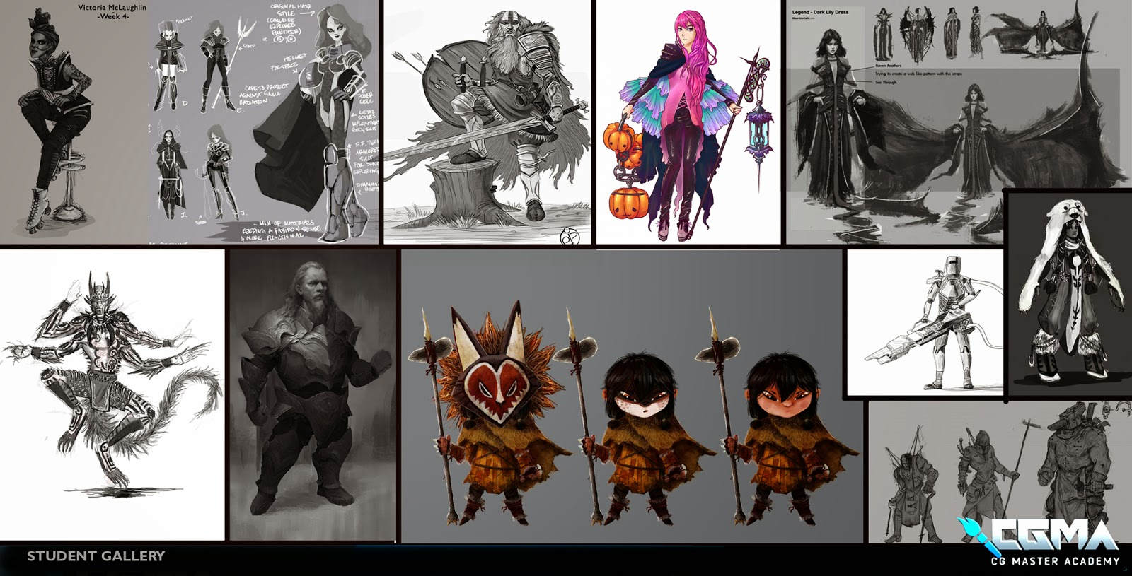2d Character Design Course : Art of the criminal mastermind