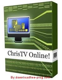 تحميل برنامج ChrisTV Online! FREE Edition 9.30