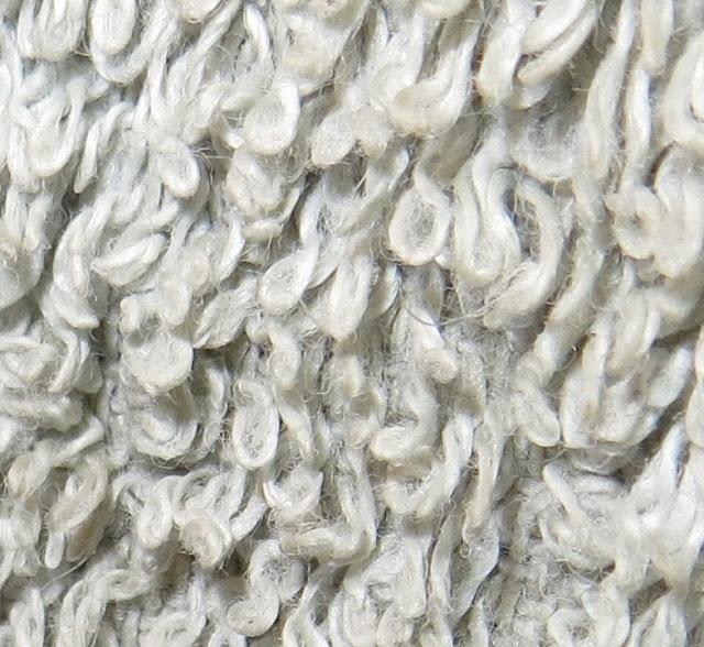 Ampliação da Foto Macro de textura de toalha de mãos até ao pormenor das fibras do tecido