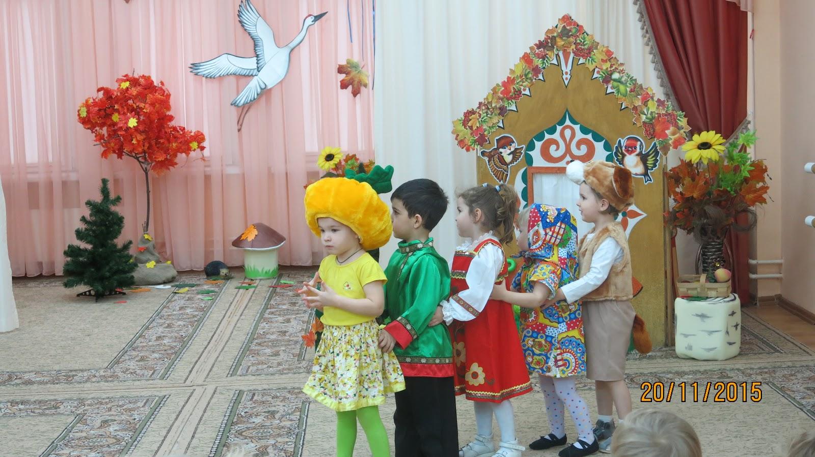 Инсценировка сказки для детей