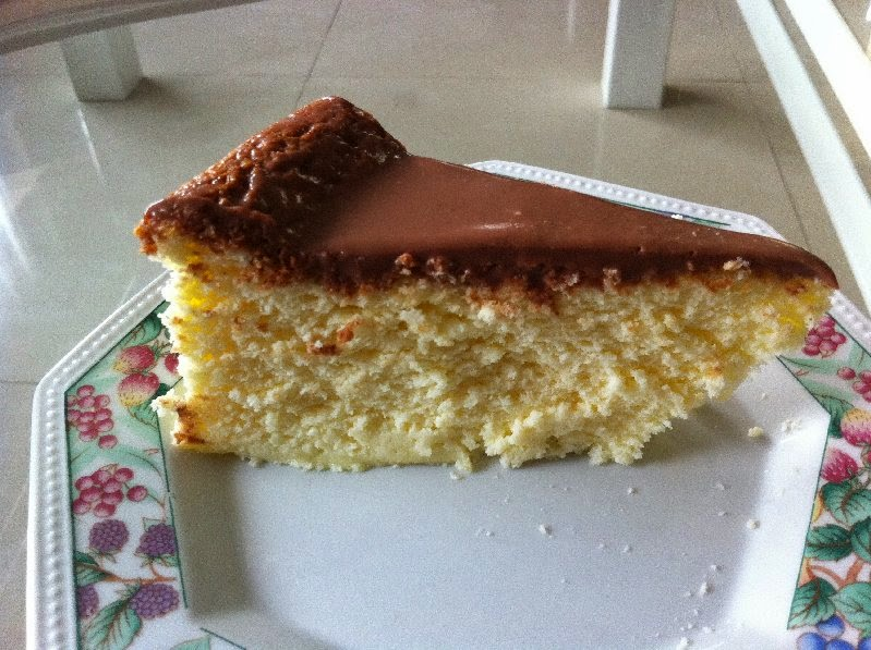 עוגת גבינה בציפוי שוקולד לשבועות