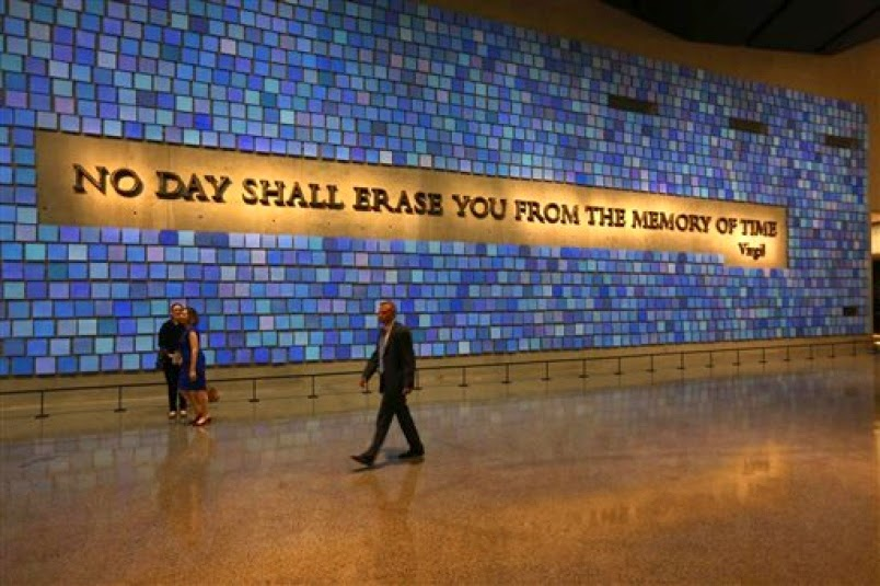 Military News - Tissues, counselors help ease pain at 9/11 museum