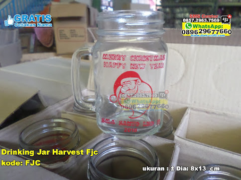Drinking Jar Harvest Fjc unik