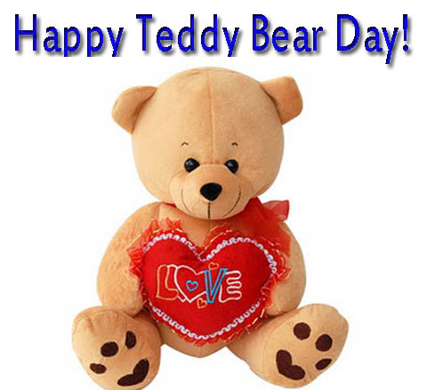 Happy Teddy Day 2016 Greeting card download, free Teddy Day e-cards download