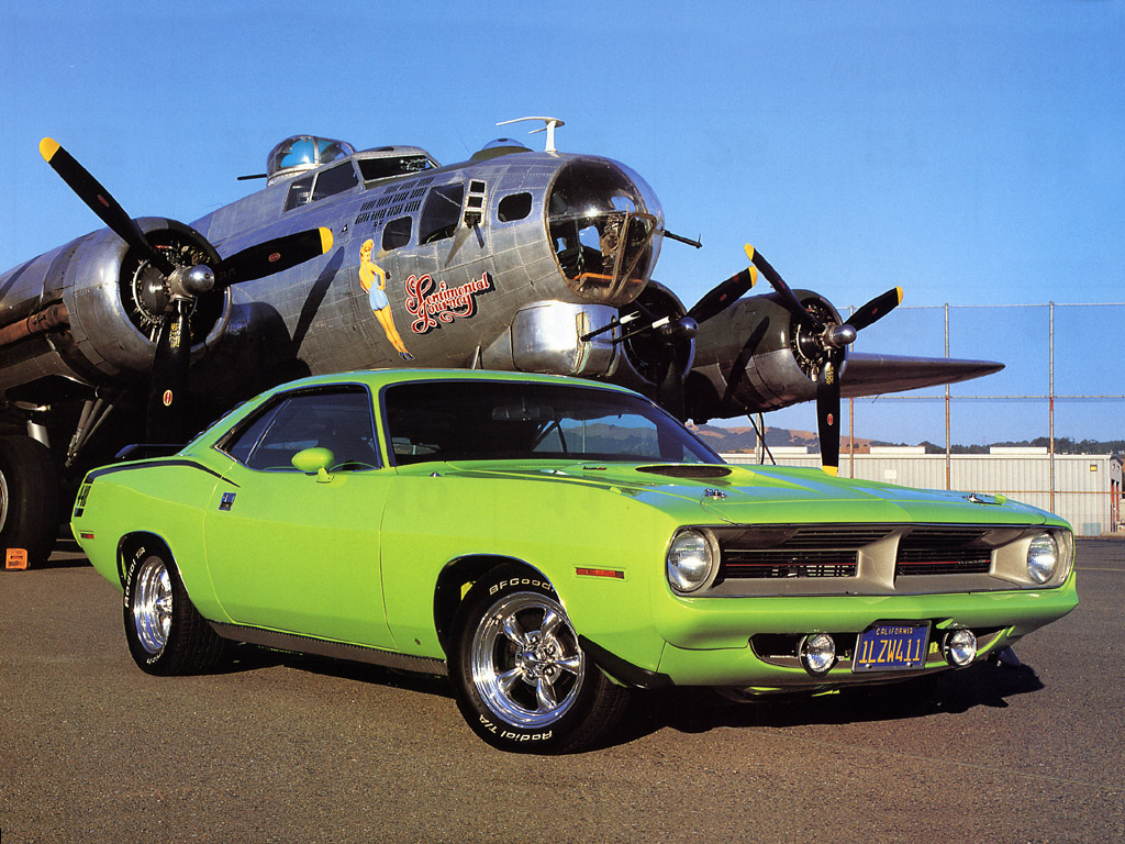 Plymouth barracuda de chrysler #3