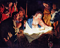 Nativity by van Honthorst