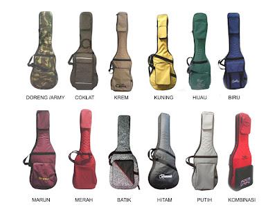 pilihan warna tas gitar