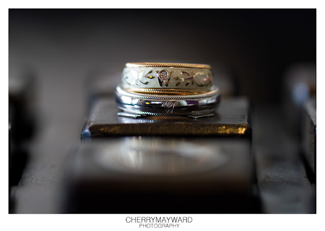 wedding rings detail at Beach Republic, Koh Samui