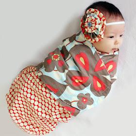 swaddling blanket pattern