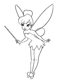 Dibujos de Tinkerbell