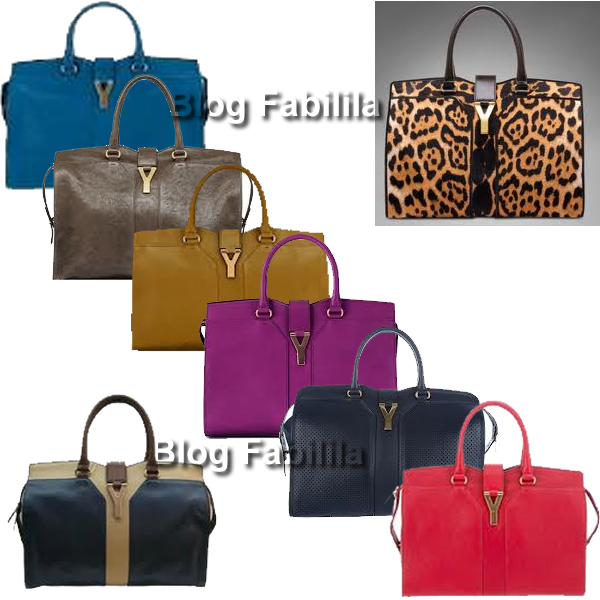 Bolsa Cabas Chic Yves Saint Laurent
