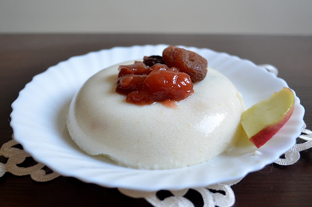 kokosowy pudding z kaszy manny