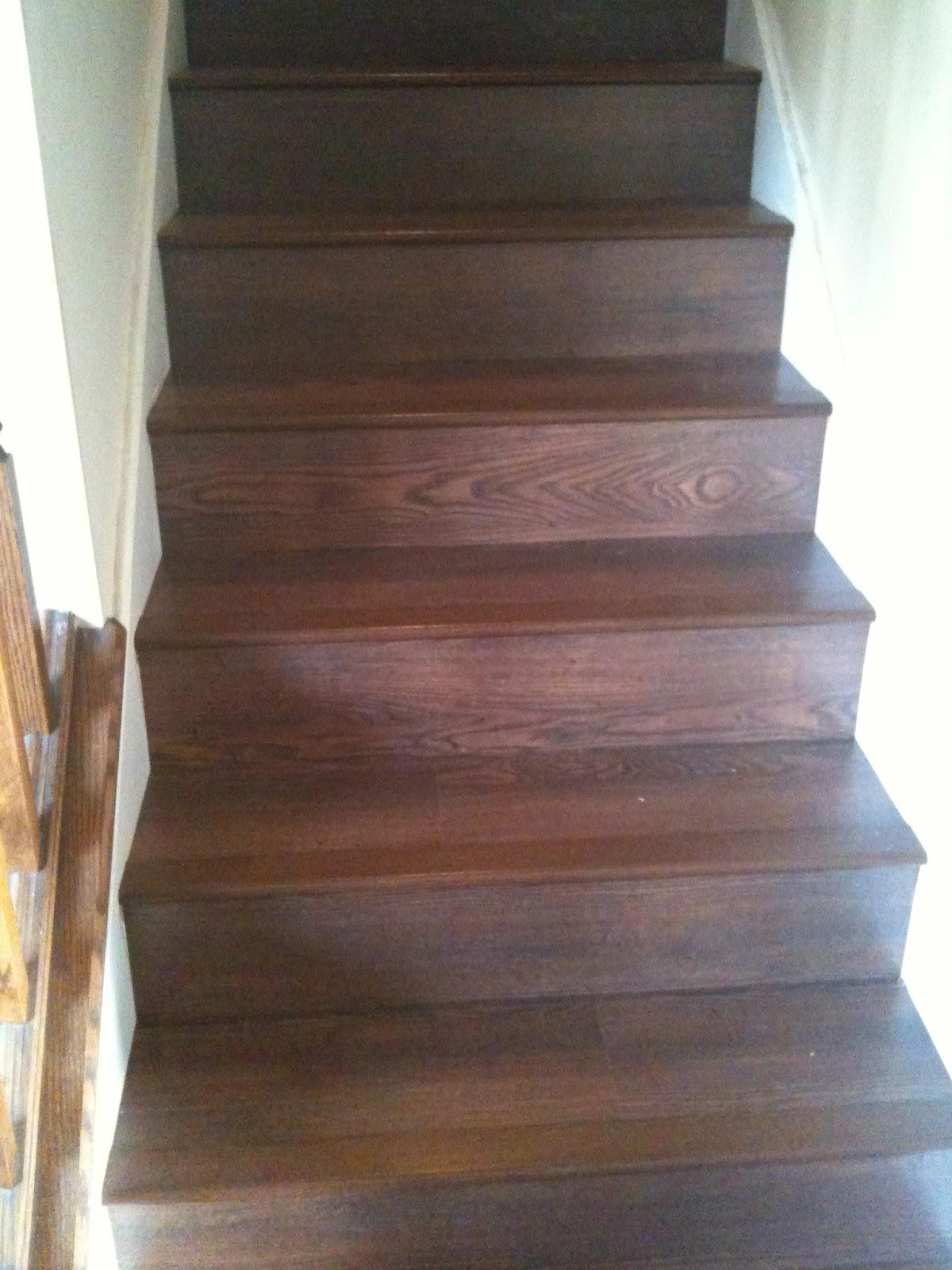 Wood Laminate Stairs