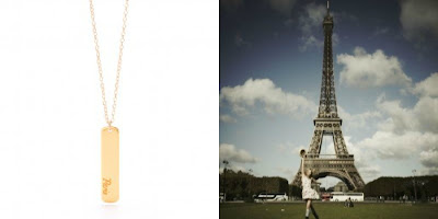 City Love - Paris - Gorjana necklace
