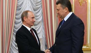 Vladimir Putin e Viktor Yanukovich