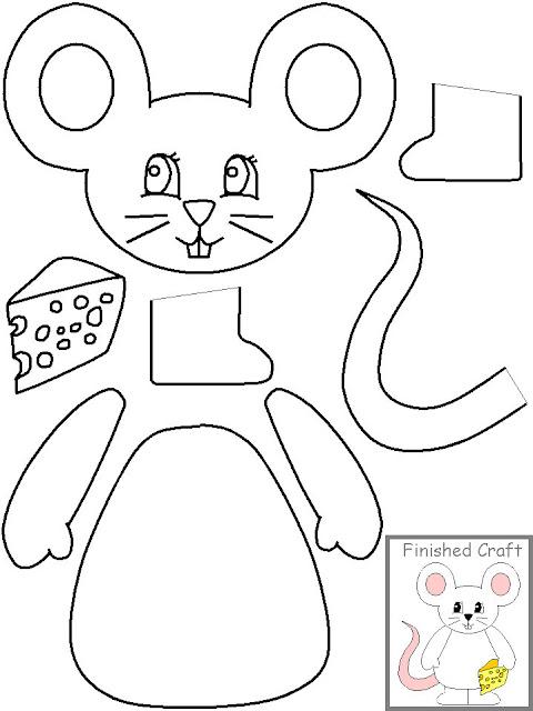 Dibujos para niños para recortar y armar - Imagui