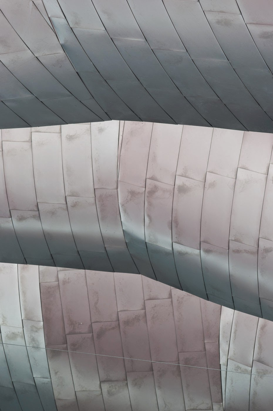 An architectural abstraction of the postmodern jay pritzker pavilion designed by architect Frank Gehry located in Chicago's Millennium park and photographed by photographic artist Tim Macauley for The Light Monkey Collective.