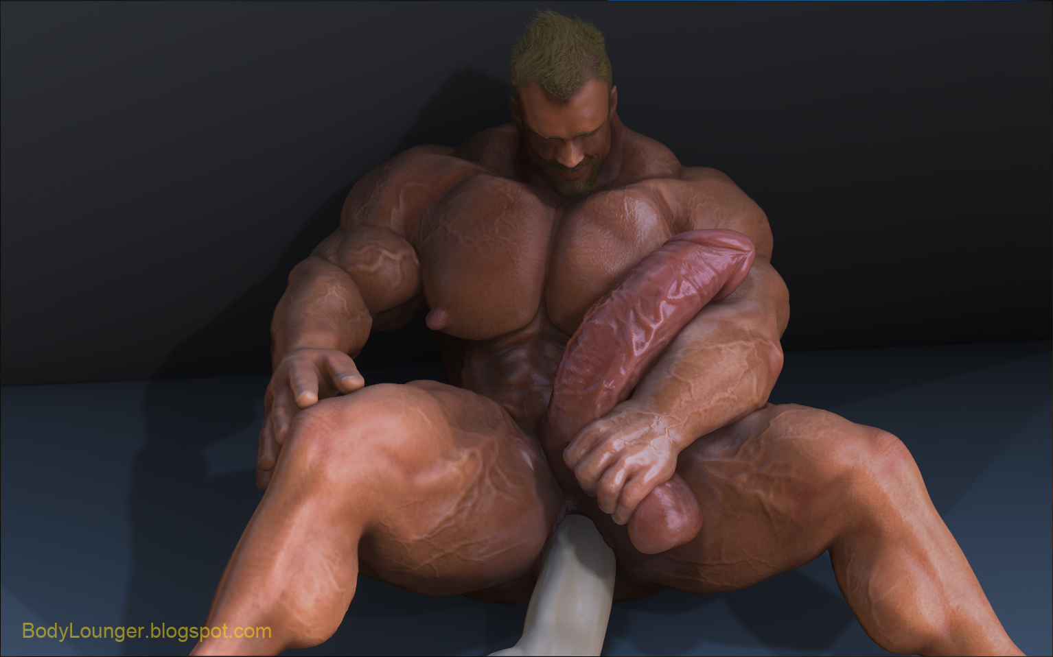 Gay male erotic art