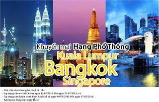 Vé máy bay đi Đông Nam Á của Vietnam Airlines được mở bán với giá siêu rẻ
