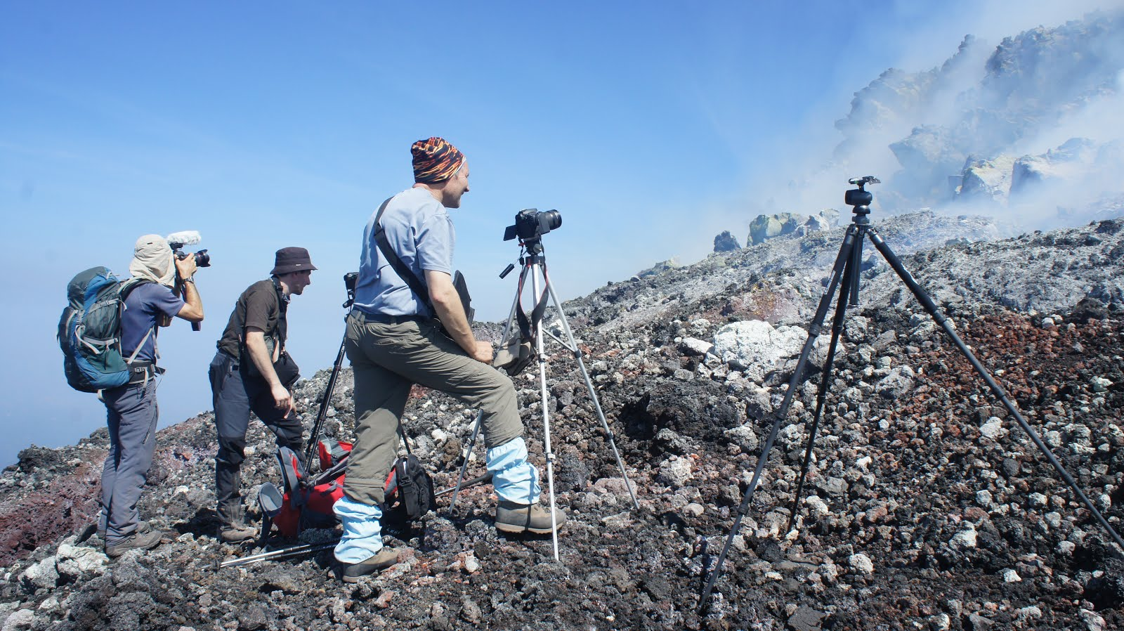 Volcano hikes for Photographers