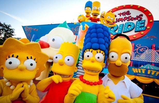 Simpsons Parque Universal Orlando