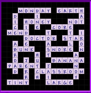 Binweevils Crossword Answers Level 3 - General (Part Two)