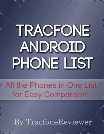 Complete android tracfone list