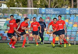 Primer entrenamiento en Gold Coast