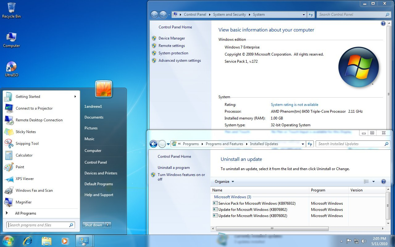 FREEWARE] Windows 7 SP1 1-5 + Full Activated