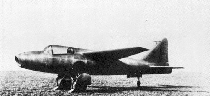 El Heinkel He 178  vol  243  el 27 de agosto deHeinkel He 178