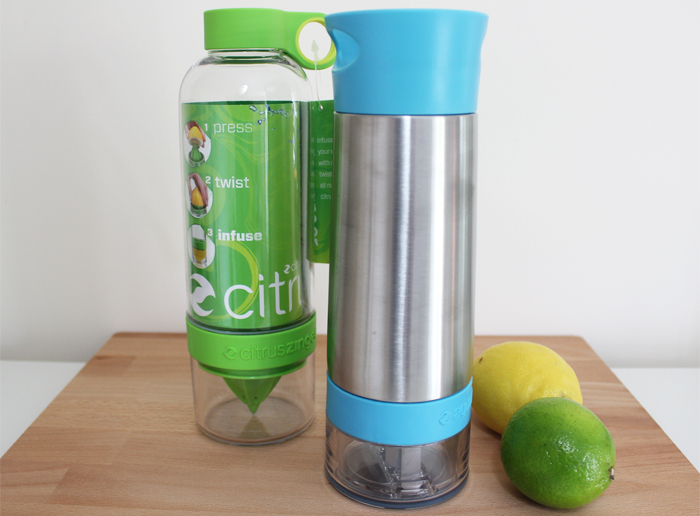 Aqua and Citrus Zinger Infusers