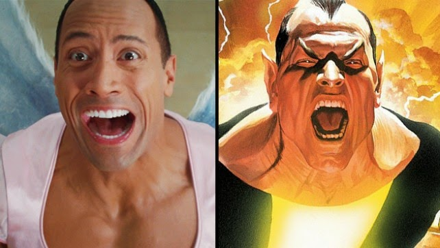 dwayne johnson action star in dc comics film