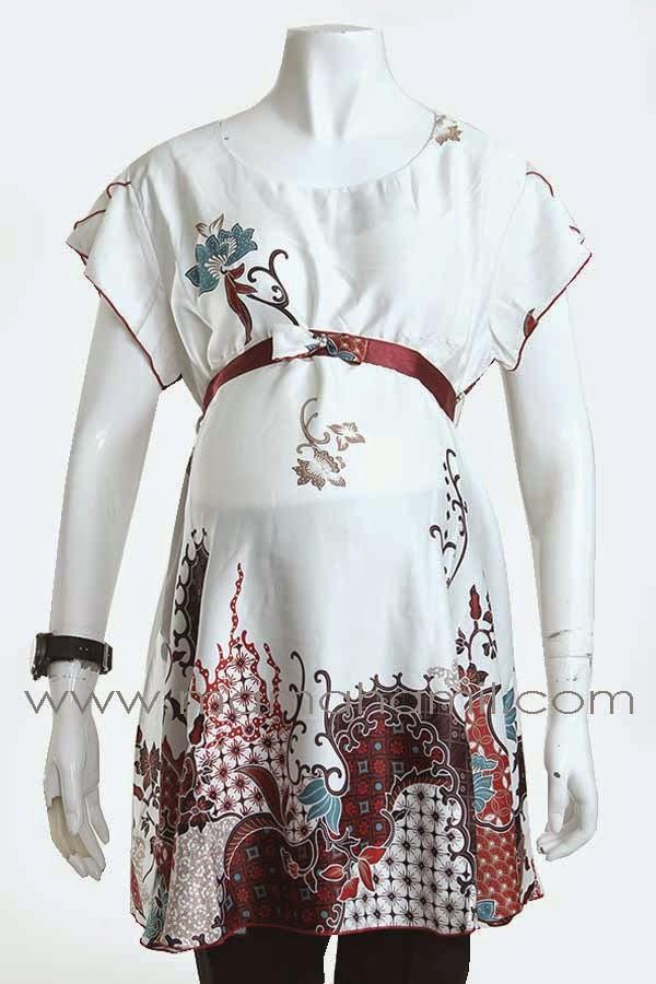 Baju Hamil Batik Kerja Kantoran