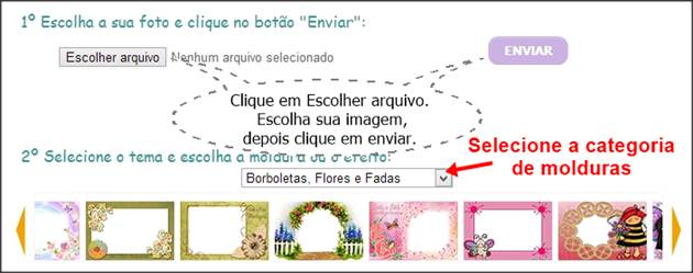 carregar imagem no site