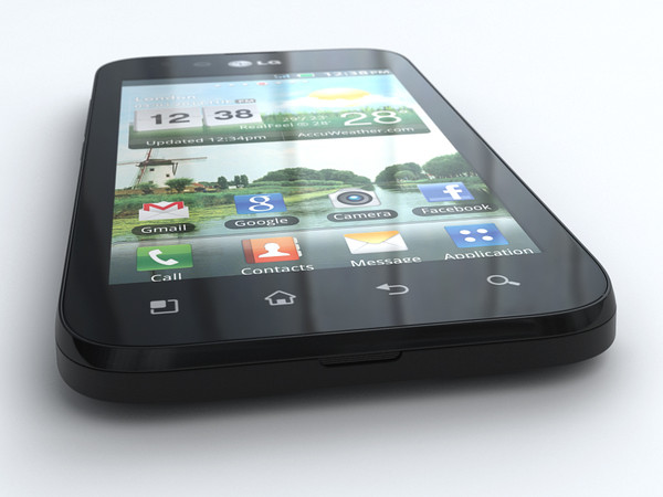 lg optimus black p970 display