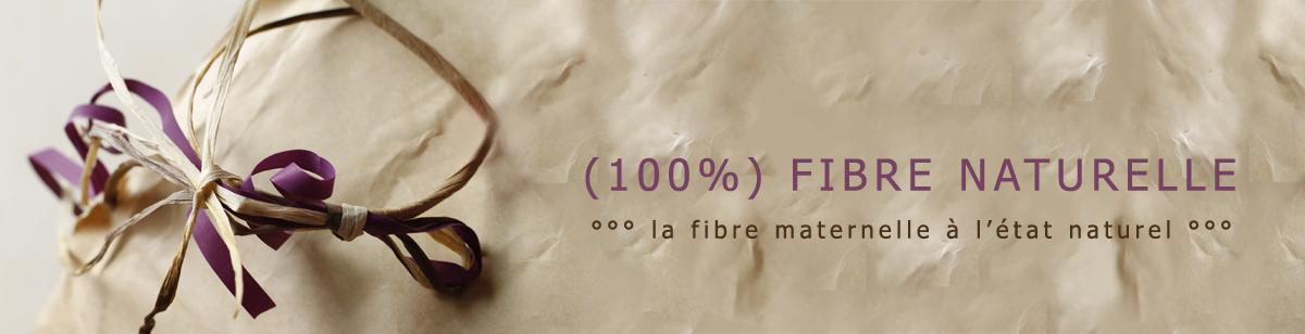 (100%) fibre naturelle