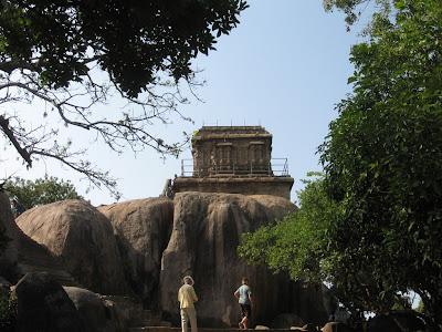Hill Temple, Mahabalipuram