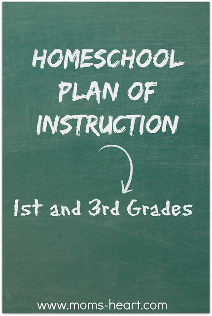 Homeschool Plan of Instruction