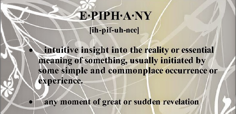 "epiphanic moment essay 2017-3-17  he experiences an epiphanic moment in being one  the conception related to nature's greatness is pointed out in the essay ""the drunken boat"" by."