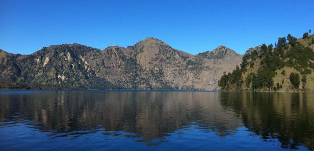Lake Segara Anak of Mount Rinjani