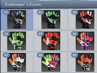 Sarung Tangan Kiper Terbaru untuk PES 2015