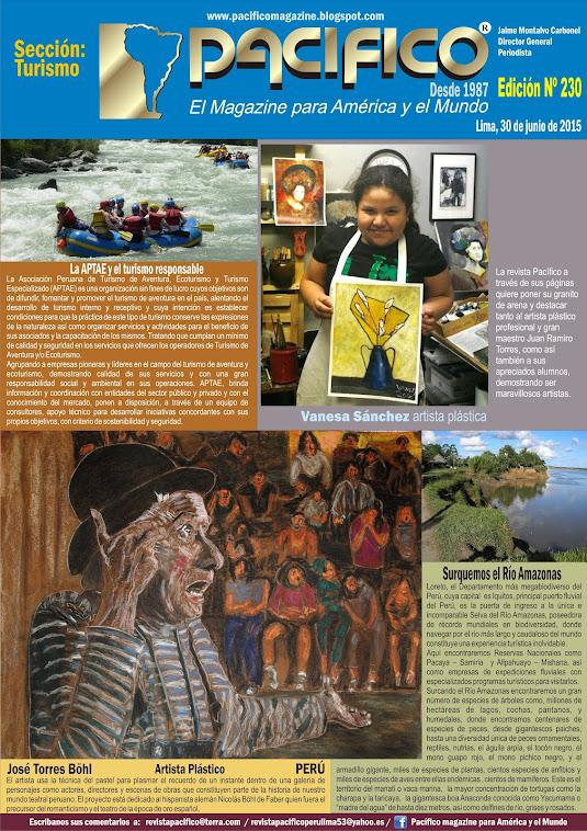 Revista Pacífico Nº 230 Turismo