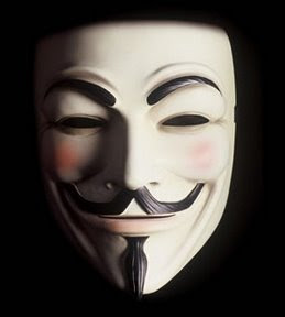 Máscara Guy Fawkes - Anonymous