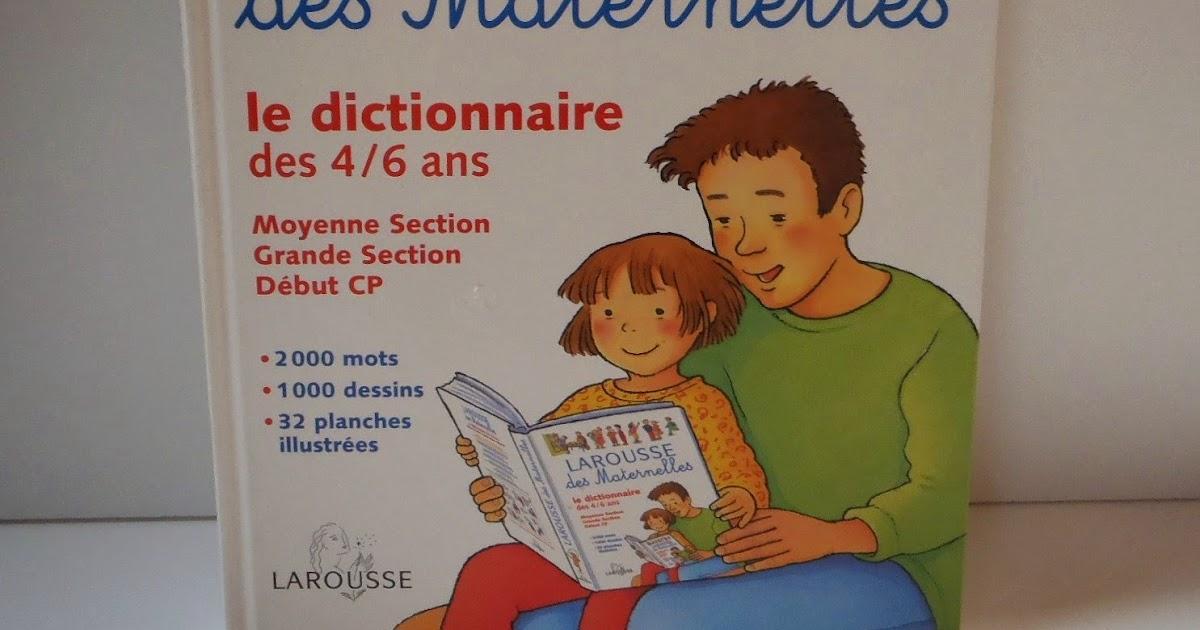 Livres En Francais Dict Des Maternelles Dictionnaires