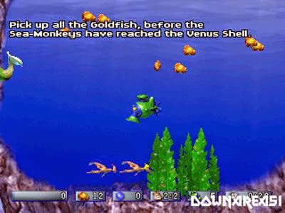Amazing Virtual Sea Monkeys PS1 Game