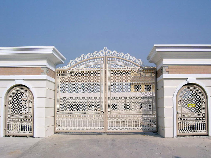 YTGATE303 - 25+ Main Gate Iron Gate Design For Small House Pictures
